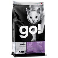 Корм GO! беззерновой для котят и кошек 4 вида мяса