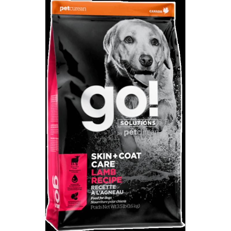 Корм GO! для щенков и собак, со свежим ягненком