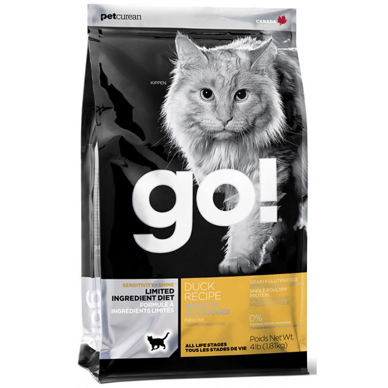 Корм GO! беззерновой для котят и кошек со свежей уткой