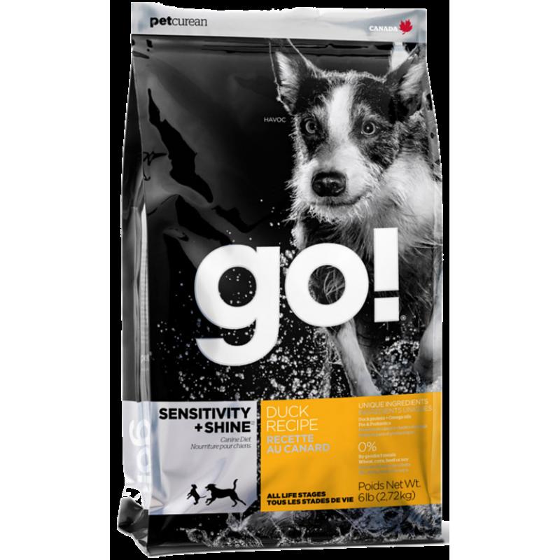 Корм GO! для щенков и собак, с уткой и овсянкой