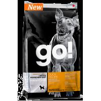 Корм GO! беззерновой для щенков и собак с цельной уткой