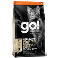 Корм GO! беззерновой корм для котят и кошек с ягненком и кабаном