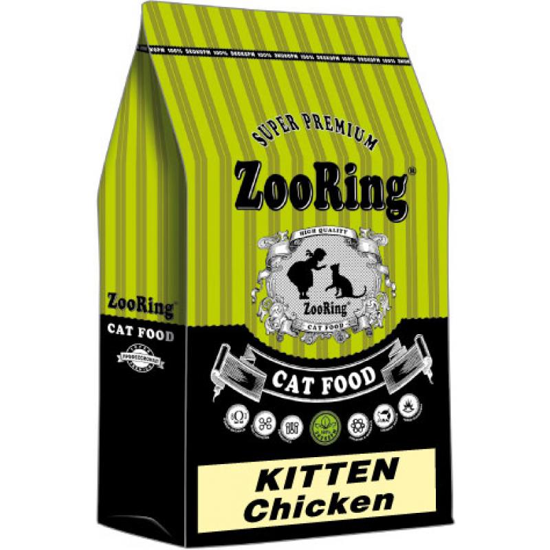 """Zooring Kitten chicken """"Цыплёнок"""" ДЛЯ КОТЯТ"""