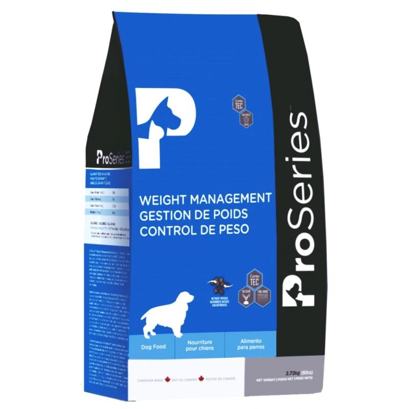 ProSeries Weight management  ДЛЯ НЕАКТИВНЫХ И ПОЖИЛЫХ СОБАК